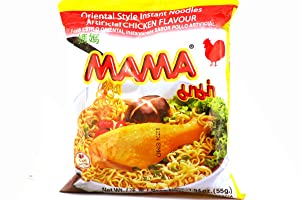 Oriental Style Instant Noodles (Artificial Chicken Flavor) - 1.94oz (Pack of 30)