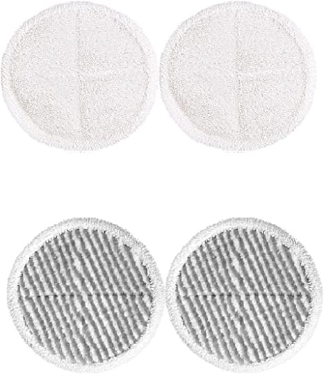 Replacement Mop Cloth Pads Kits for Bissell Spinwave 2039A Powered Floor Mop HY