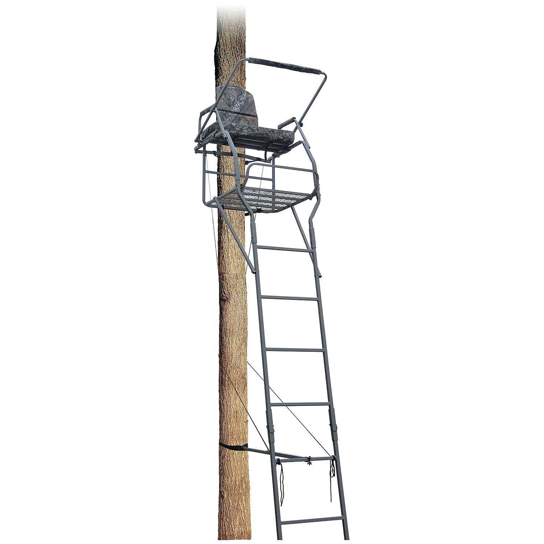 Tree Stand 18 Deer Hunting Jumbo Ladder Treestand Archery
