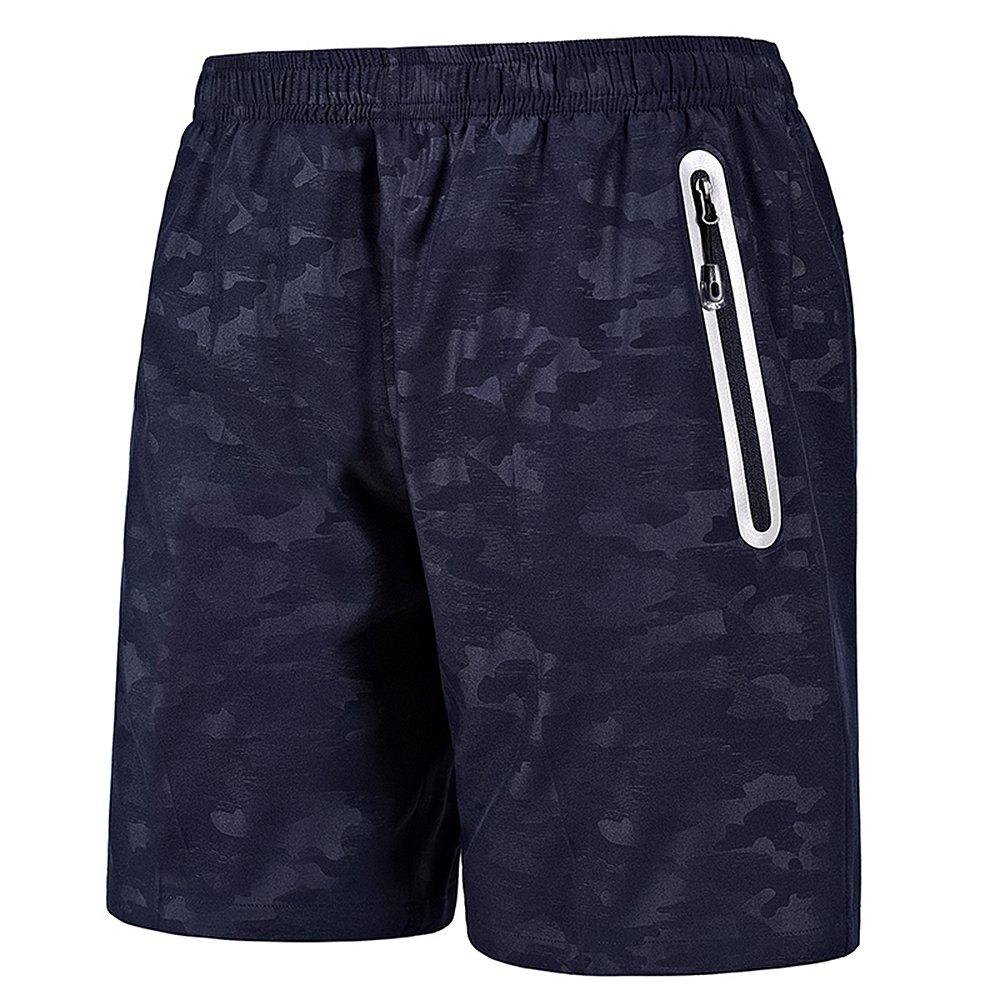 INIBUD Gym Shorts Men Quick Dry Running Shorts