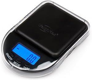 EX-650C Black Digital Coin/Jewelry Pocket Scale 650 gm Weighmax