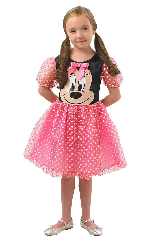 Rubies 888831L Disfraz Oficial de Minnie Mouse, para niños, Grande ...
