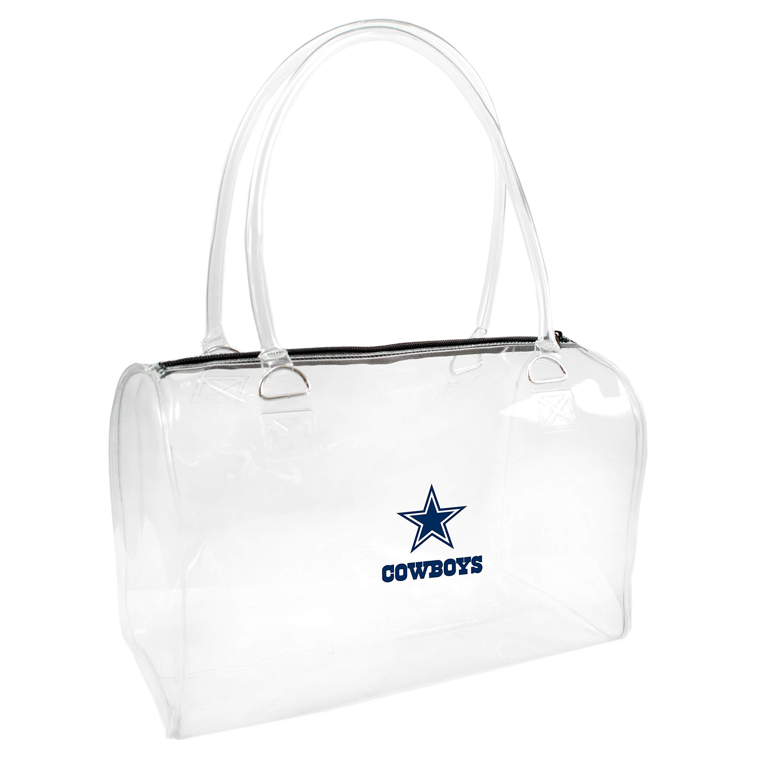 NFL Dallas Cowboys Clear Bowler Handbag