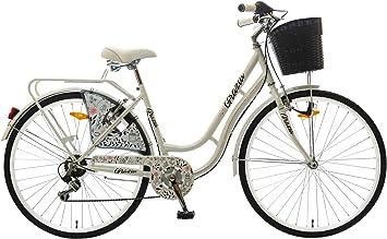 breluxx - Bicicleta de Paseo para Mujer (26