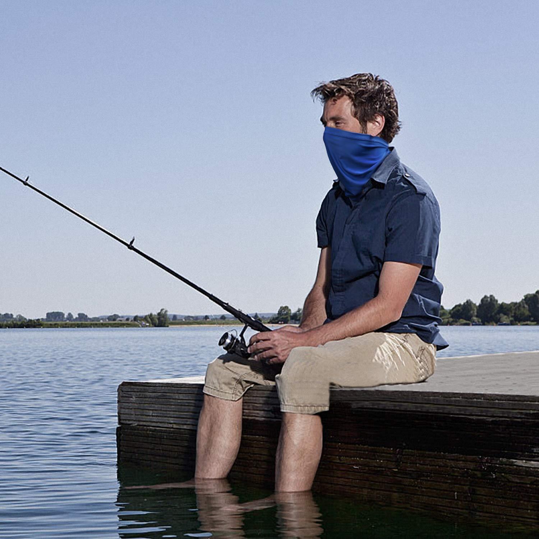 B BINMEFVN Summer Bandana Face Mask Sun Protection Fishing Neck Gaiter  for Men  Women