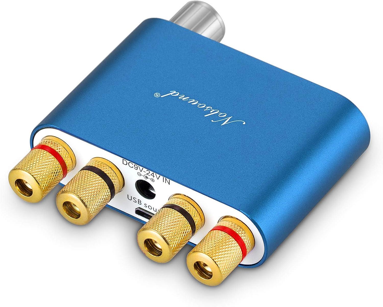 nobsound NS de 20g Mini Digital Power Amplifier Bluetooth Hi-fi Stereo Amp Amplificador de Potencia 100/W gpo-100/W with Power Supply