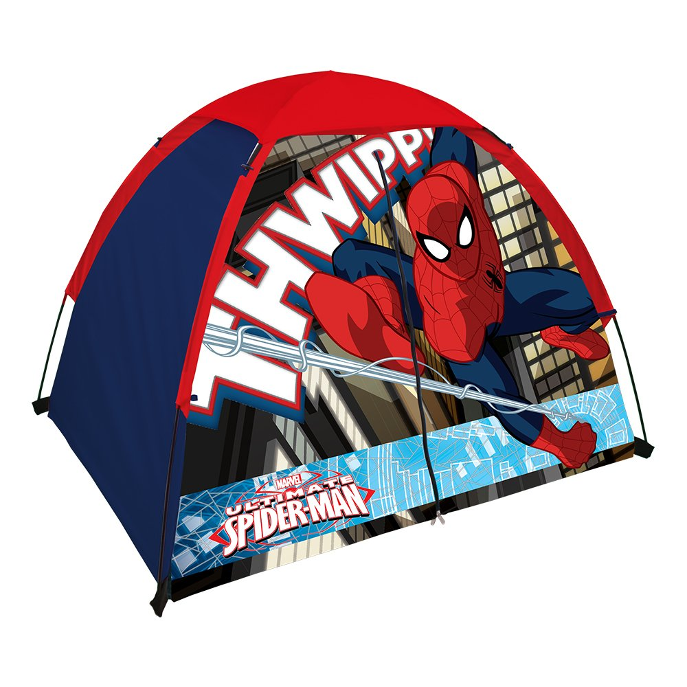 Spiderman Kids 2 Pole Dome Tent with Zip T Doors, 4x3-Feet/36-Inch: Amazon.es: Juguetes y juegos