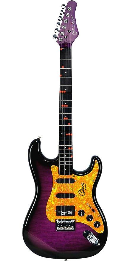fretlight fg-651 inalámbrico Orianthi edición limitada guitarra ...