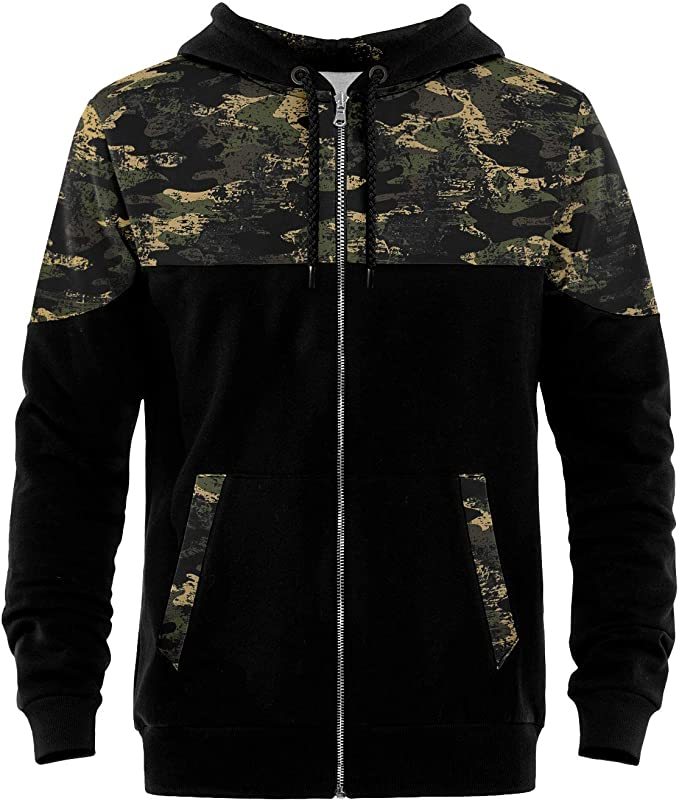 Blowhammer Sweat à Capuche Homme Deep Forest SWH: Amazon