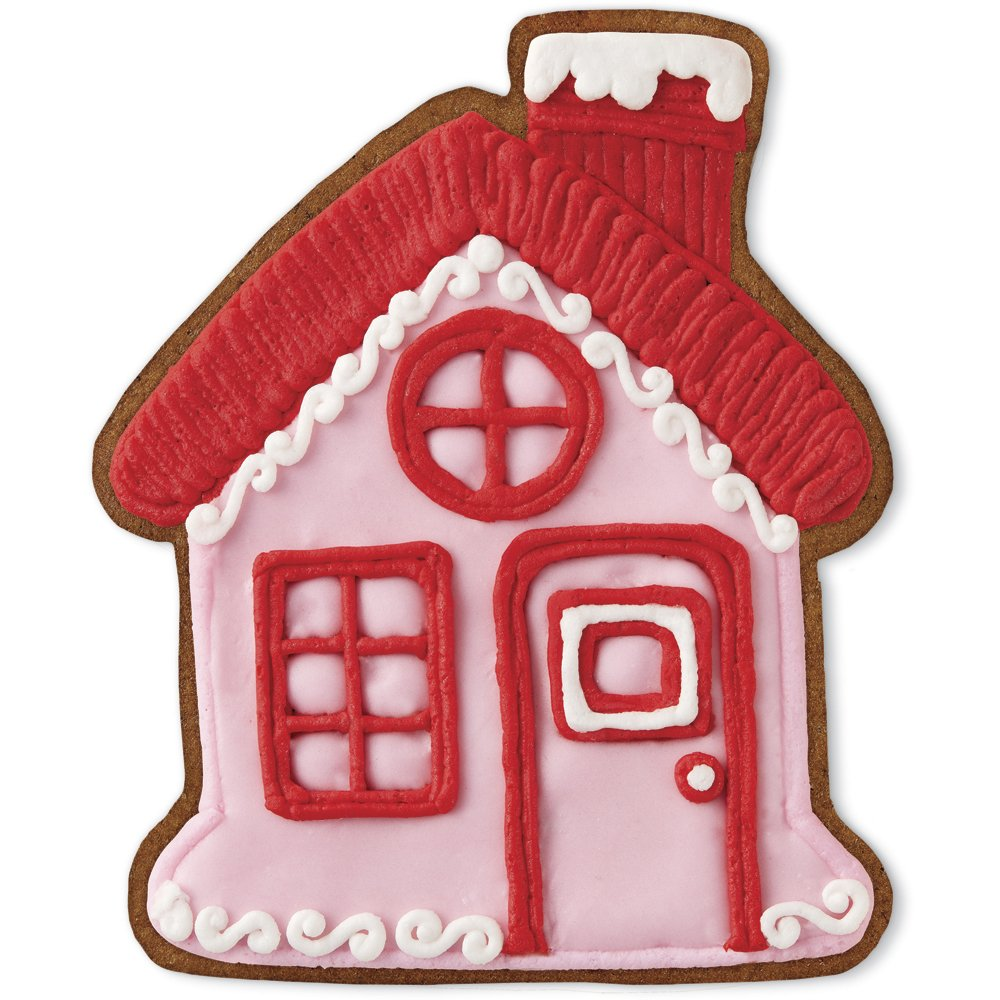 Amazon.com: Wilton Gingerbread House & Boy Cookie Cutter Set ...