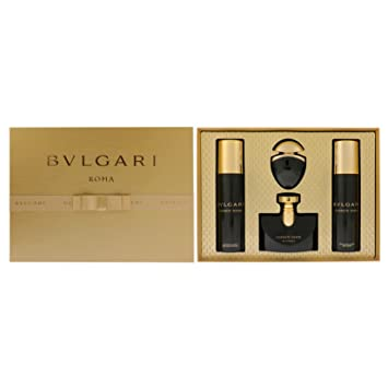 9f925f841a6c Bvlgari Jasmin Noir Giftset Edp Spray, Body Lotion and Shower Gel, 525 ml