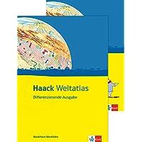 Haack Weltatlas Differenzierende Ausgabe / Ausgabe für Nordrhein-Westfalen: Mit Arbeitsheft Kartenlesen mit Atlasführerschein