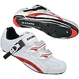 Exustar E-SR403 Road Bike Bicycle Cycling Shoes for Shimano SPD SL Look
