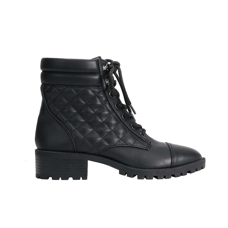 Botines Tac/ón Bajo Militar Boot Parfois Mujeres