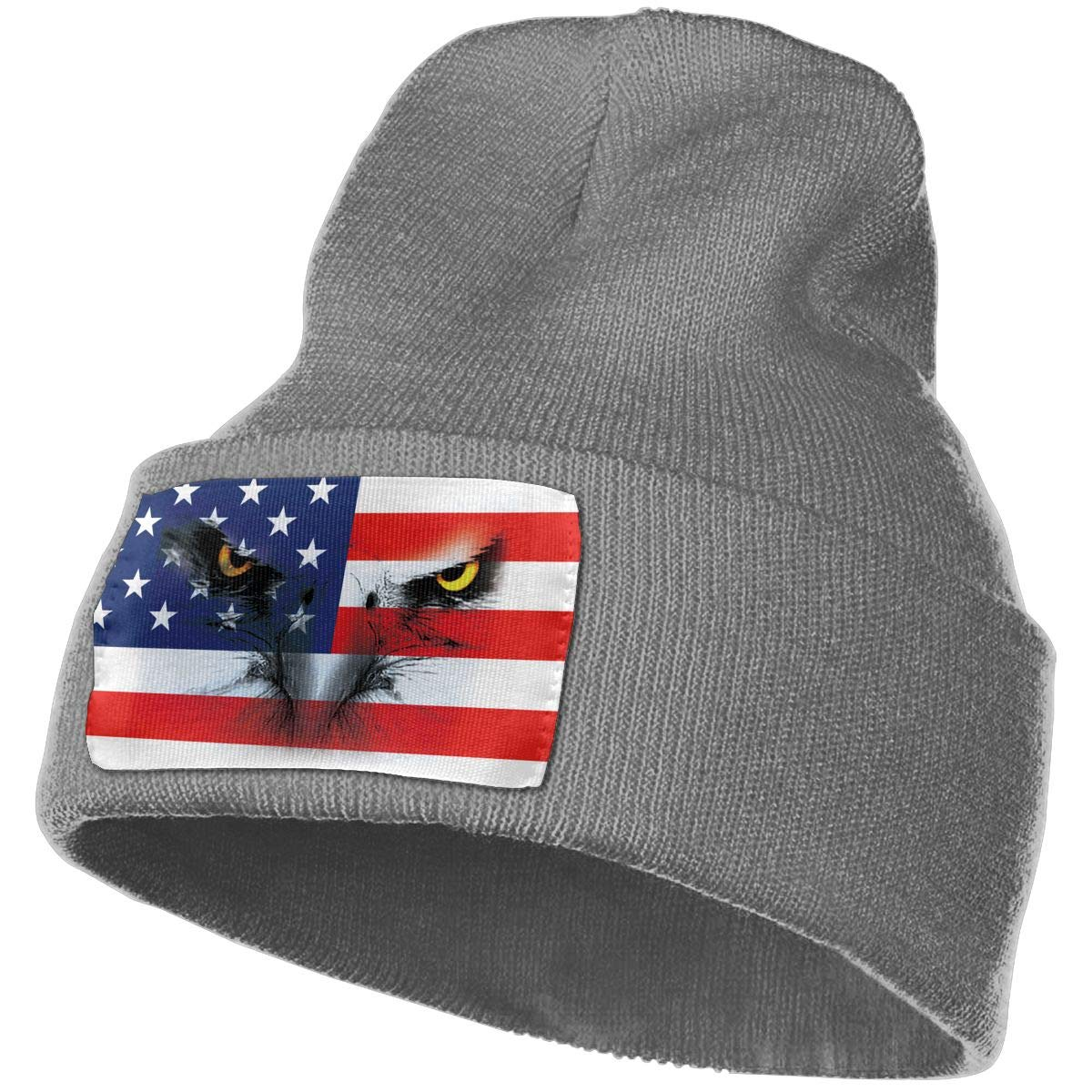 ee5911360d3 Amazon.com  American Eagle Winter Beanie Hat Soft   Warm Chunky Skull Wool Knit  Hats Cap for Men Women  Clothing