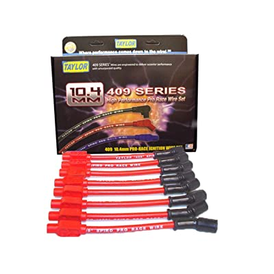Taylor Cable 79205 409 Pro-Race Spiro-Wound Core Spark Plug Wire Set: Automotive [5Bkhe0802078]
