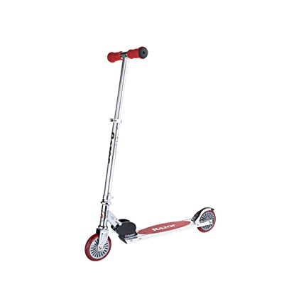 Razor A125 Anodized Scooter Red: Toys & Games