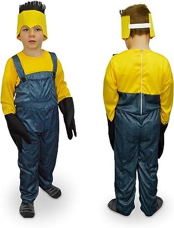 6 anni, giallo Costume Minion