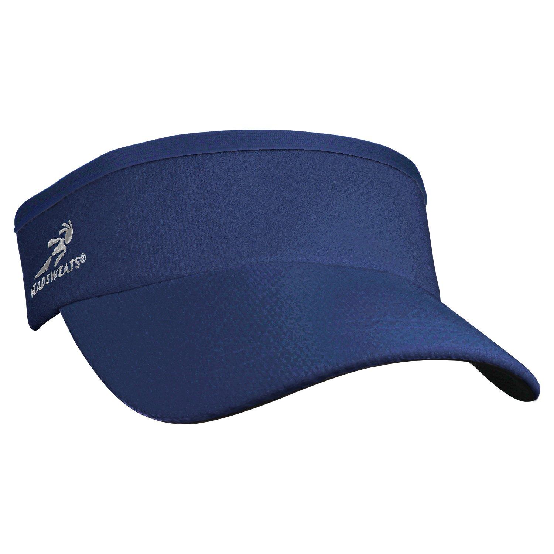Headsweats Supervisor Sun/Race/Running/Outdoor Sports Visor, Navy, One Size