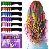 Temporary Bright Hair Chalk Set