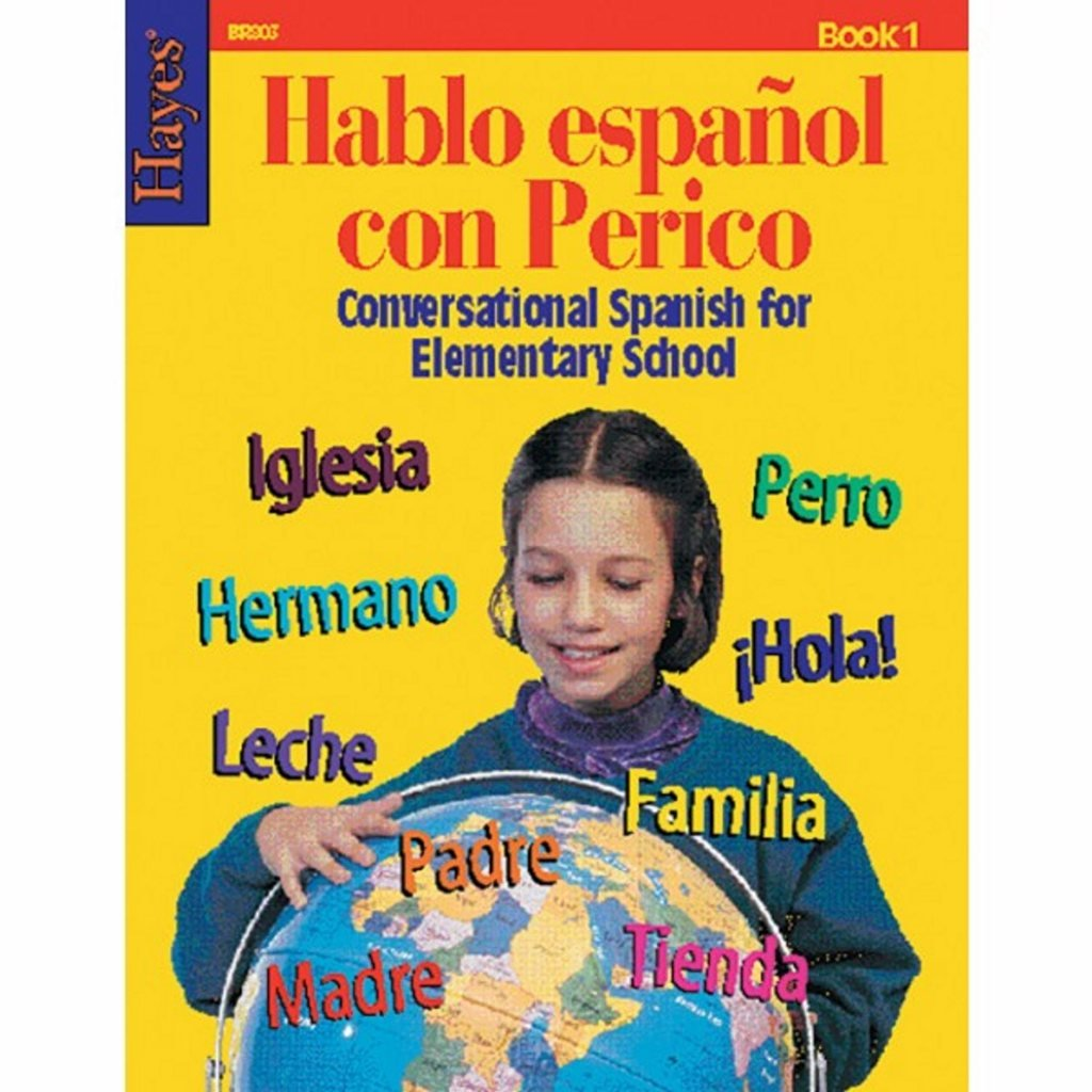 Hablo Espanol con Perico (Conversational Spanish for Elementary School) - Workbook 1 (Pack of 10)
