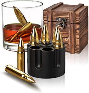 Gifts for Men Dad, Christmas Stocking Stuffers, Whiskey Stones, Unique Birthday Gifts Ideas for Him Boyfriend Husband Grandpa, Cool Gadgets Presents