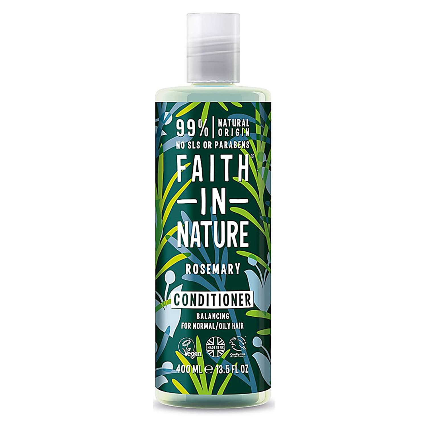Faith In Nature Natural Conditioner, Rosemary, 8.46 Fluid Ounce (Pack of 12)