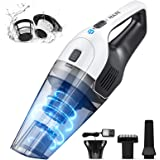 Holife Handheld Vacuum, Hand Vacuum Cordless with Powerful Cyclonic Suction, Handheld Vacuum Cordless Powered with Rechargeab