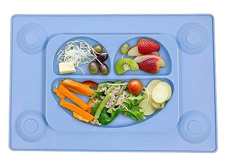 Tots R Us - The EasyMat - Easymat niños de succión de silicona plate y mantel