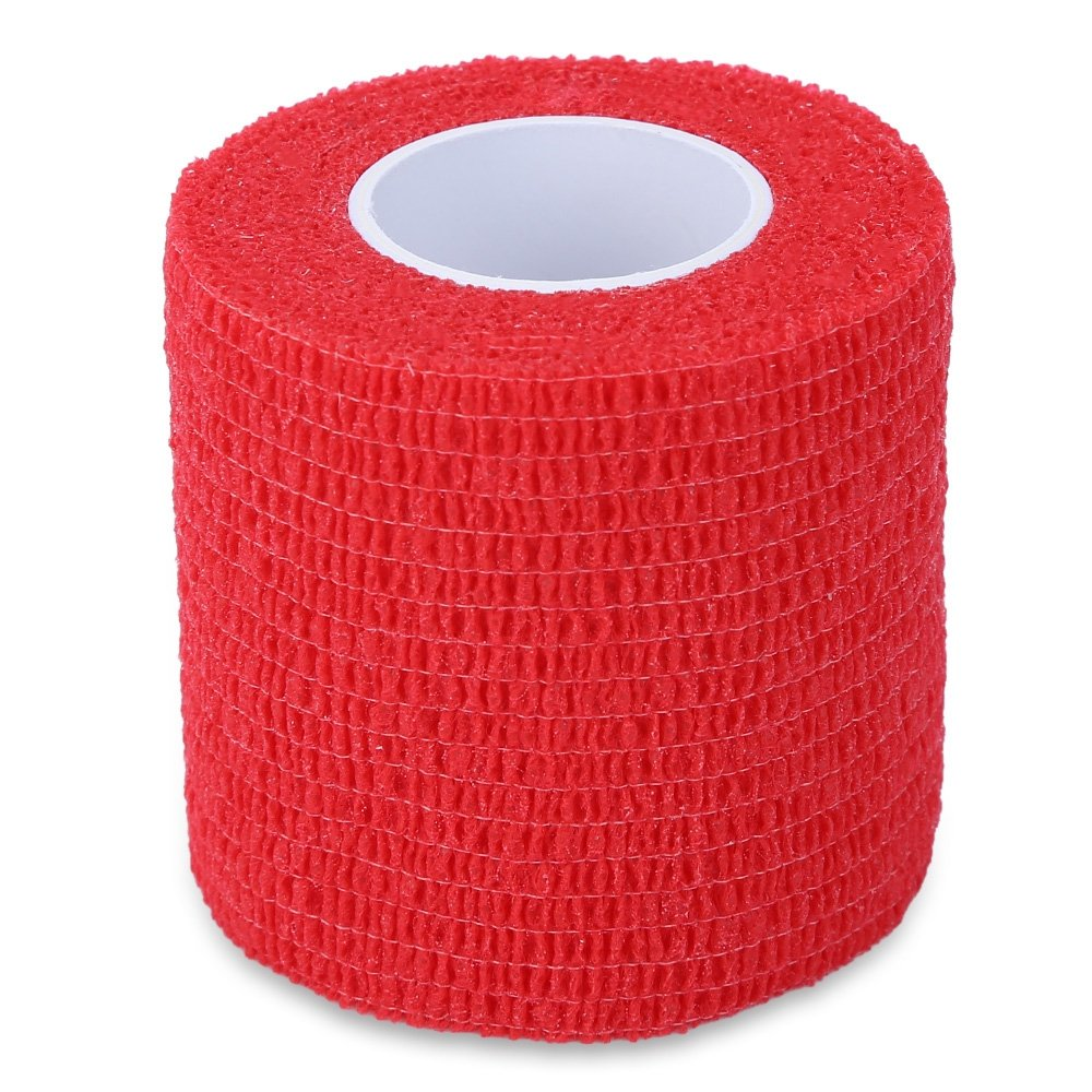 DierCosy Tattoo Self Adhesive Elastic 5CM Wide Sports Tennis Elbow Bandage Nail Tapes Finger Protection Wrap