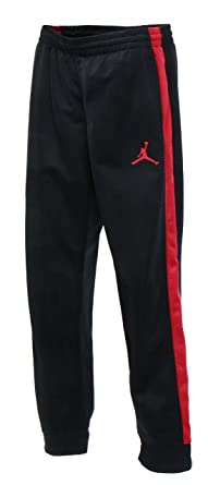 ae5d4d09d892 Amazon.com  NIKE Boys Jordan Track Warm-up Pants - Black (Large ...