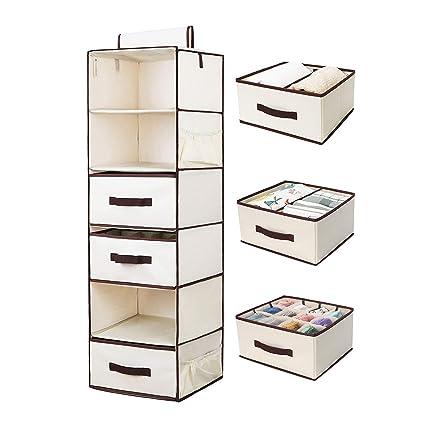 e1b27d6ca1344 Amazon.com  StorageWorks Hanging Closet Organizer