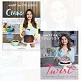 Crave and Twist 2 Books Collection Set By Martha Collison - Brilliantly indulgent recipes, Creative Ideas to Reinvent Your Baking