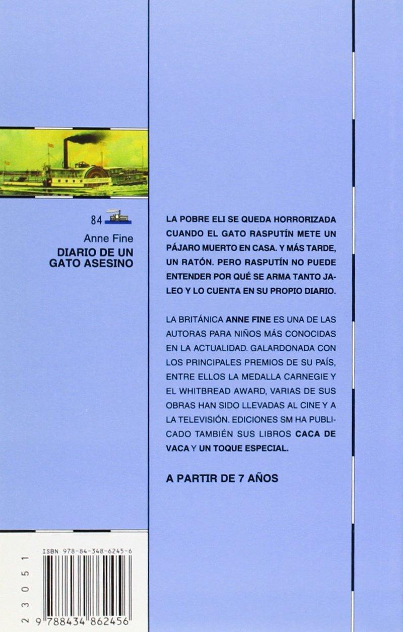 Diario de un gato asesino (Barco de Vapor Azul): Amazon.es: Anne ...