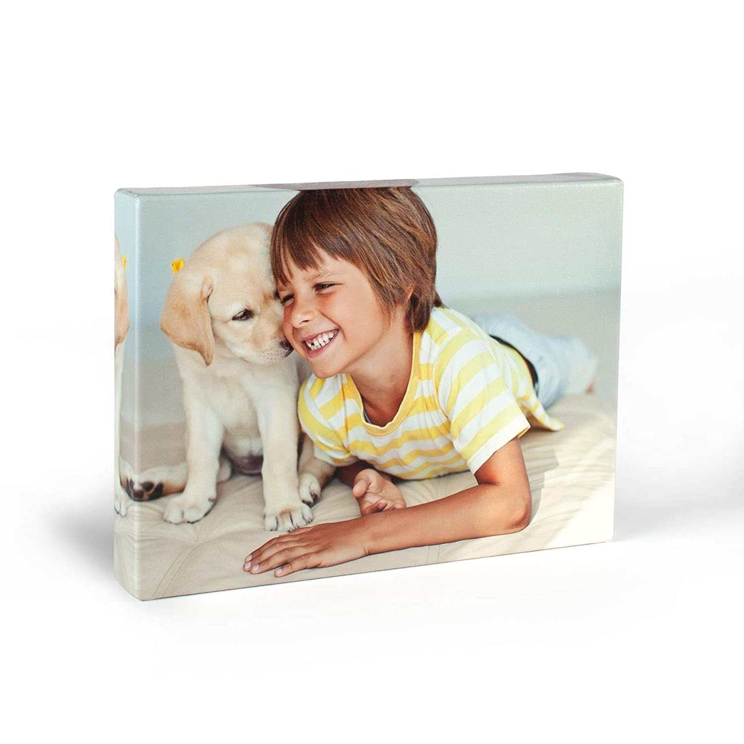 ArtToFrames 20x24 Custom Canvas Print - Upload Your Photo or Picture - 1.5 Inch Gallery Wrap - Mirror Edges.