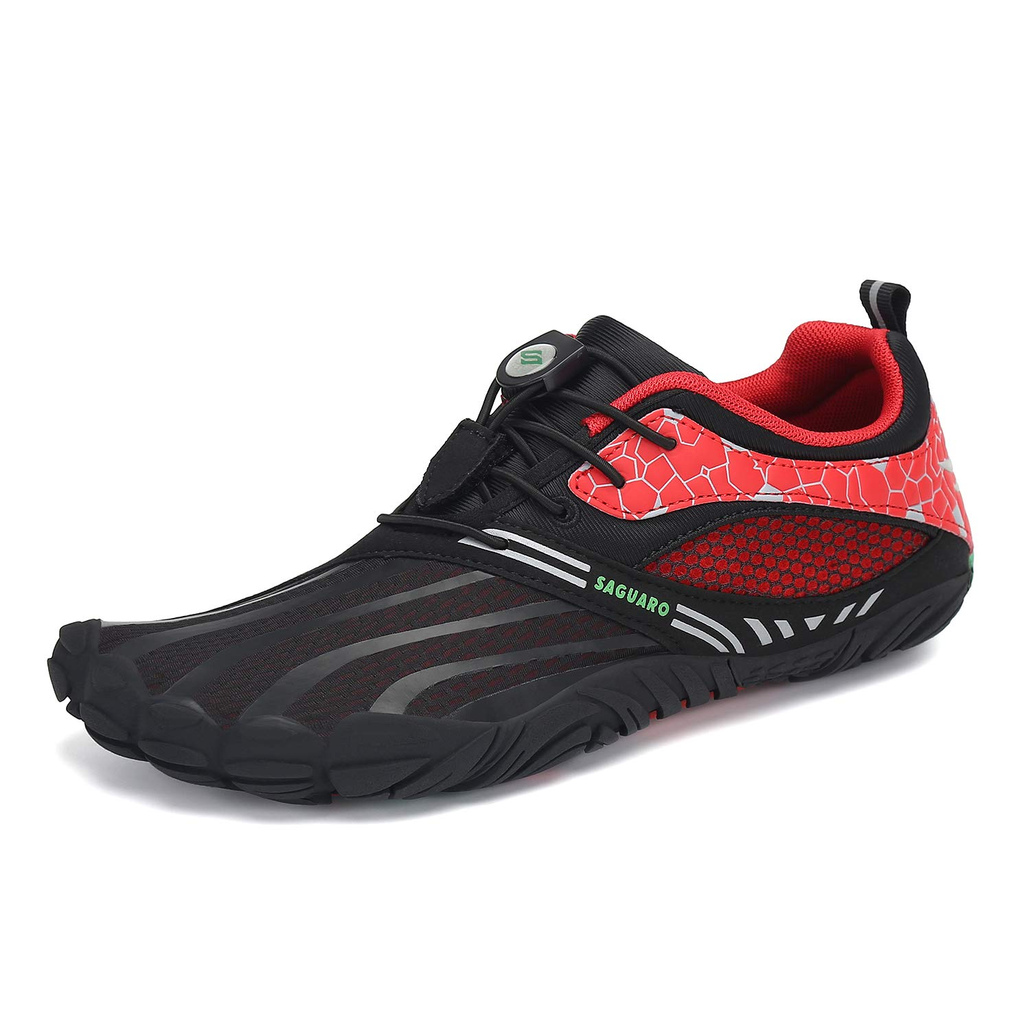 SAGUARO Mens Womens Barefoot Trail Running Shoes Zero Drop Gym Walking  Beach Hiking Aqua Sports Pool Surf Quick Dry Water Shoe Black 6.5 Women/4.5  Men | Trail Running cjp.org.in