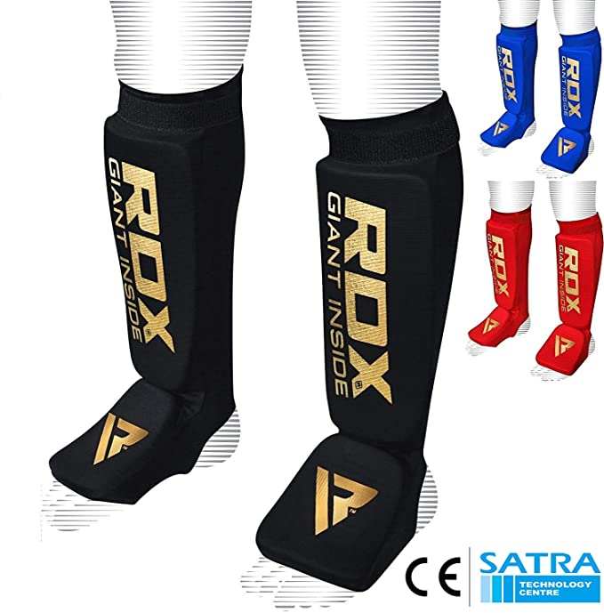 28 opinioni per RDX MMA Imbottito Parastinchi Shin Pad Kick Boxing Muay Thai (Certificato Ce