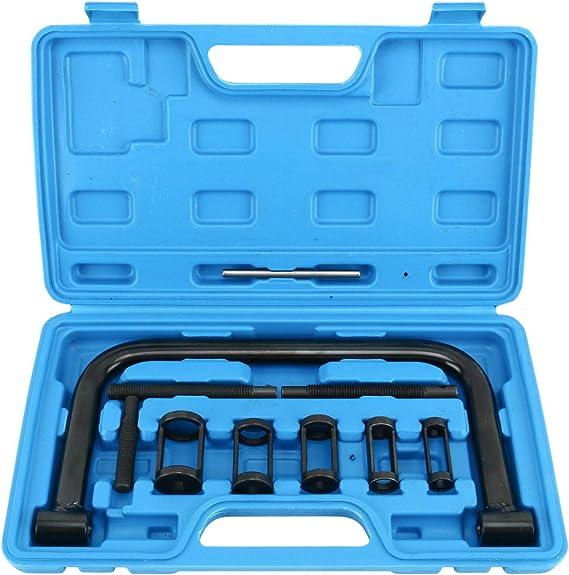 Freetec Universal Ventilfederspanner Ventil Spring Kompressor Set Ventilschaftdichtung Wechseln Montage Werkzeug Auto