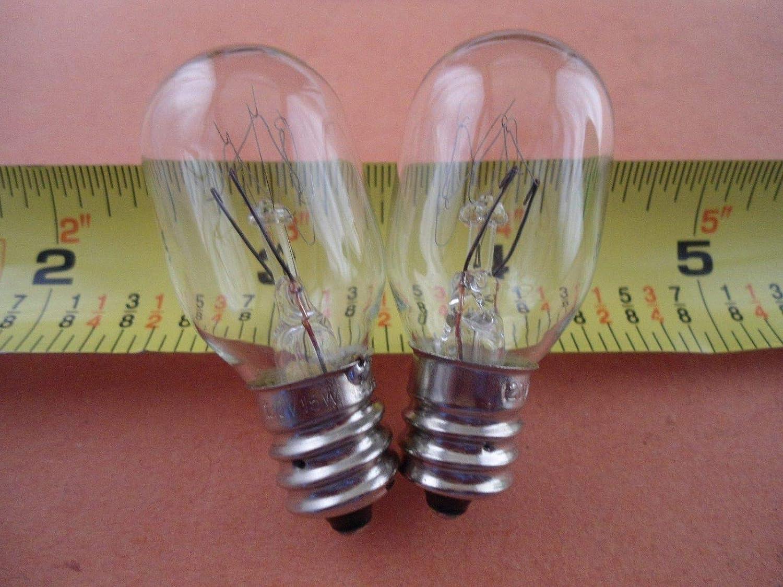 NGOSEW 2 bombillas transparentes con rosca para Singer 2263 Simple ...