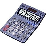 CASIO MS-80VERII - Calculadora básica, 30.7 x 103 x 145 mm, azul