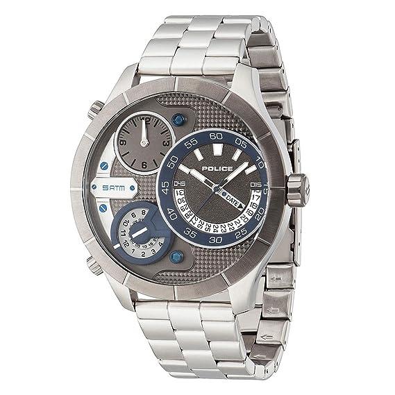 Amazon.com: New Police Men Watch BUSHMASTER PL14638XSTU61M 31361: Watches