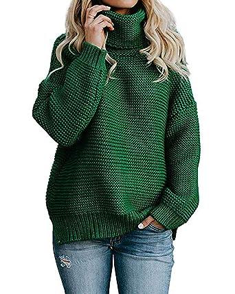 grüne strickpullover damen