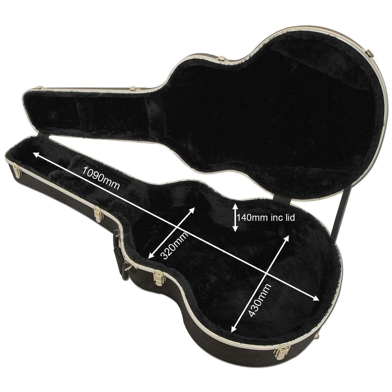 Funda para guitara Spider ABS Jumbo, de transporte, guitarra ...