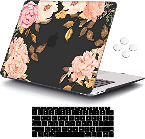 Colorful Giraffe with Keyboard Skin Cover and Screen Protector Laptop Case MacBook Case Hard Shell Case for MacBook Air 13 inch Model A1932 2019//2018 Release