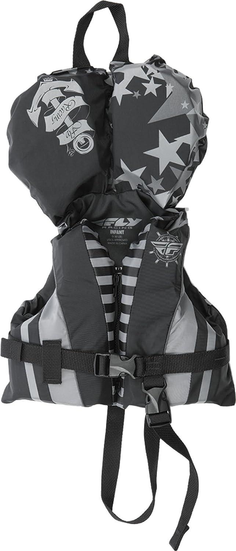 Fly Racing Unisex-Adult Nylon Vest Gray//Black Infant 221-20001