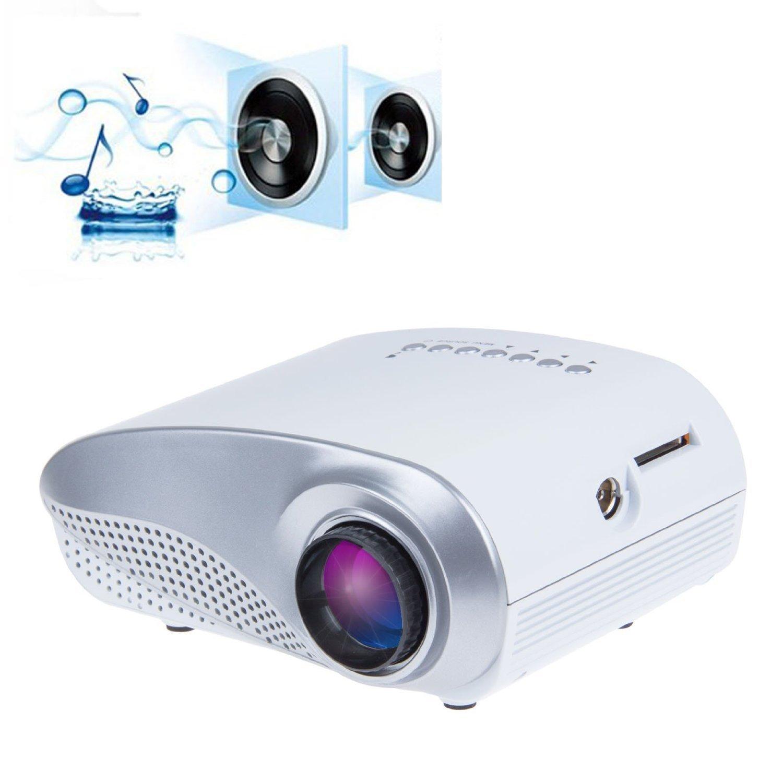 Amazon.com: Taotaole Mini Portable Multimedia LED Projector Home ...
