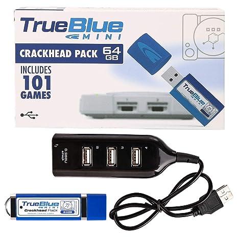 YIFAN True Blue Mini Crackhead Pack for Playstation Classic