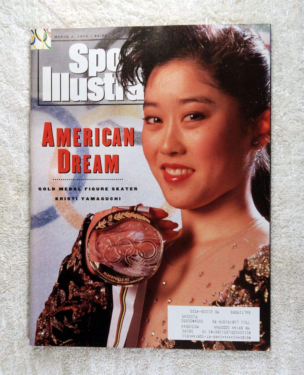 c8617a714a52 Kristi Yamaguchi - Gold Medal Winner - Figure Skating - Sports Illustrated  - March 2