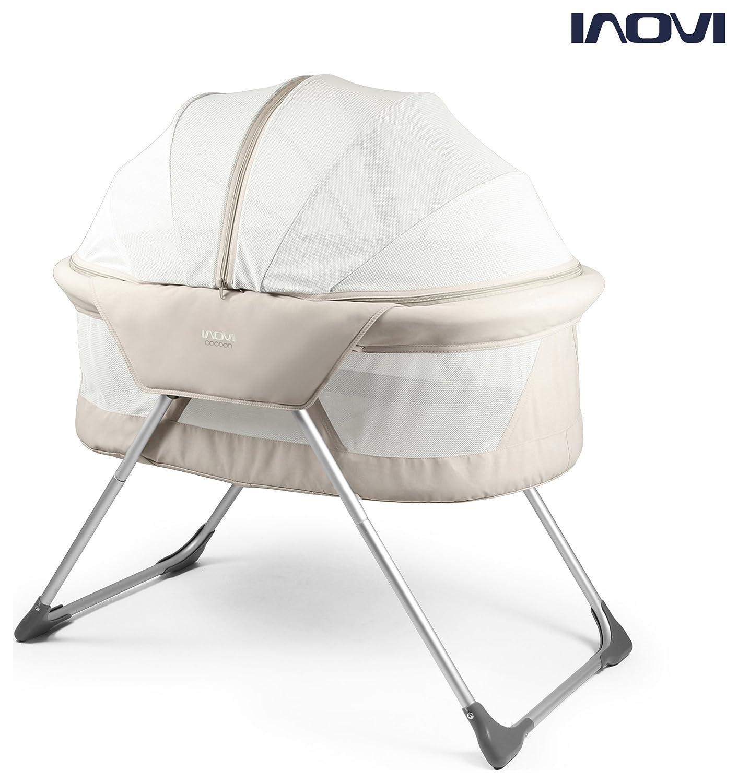 Inovi Cocoon Folding Moses Crib Travel Cot Biege COCOON TRAVEL COT 15-44-001