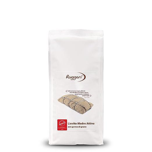 16 opinioni per Ruggeri Lievito Madre Attivo con germe di grano- 2 pezzi da 250 g [500 g]